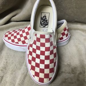 Vans size 4